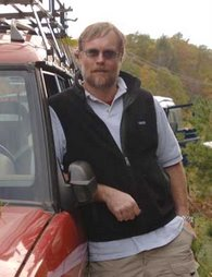 Me, on a Land Rover outing in 2005