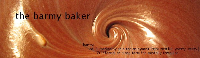 the barmy baker