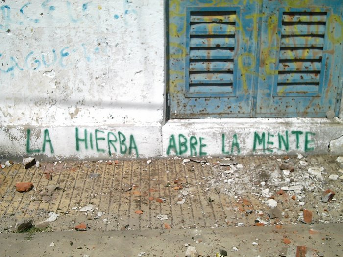 UNA LEYENDA EN LA PARED