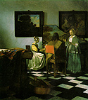 Vermeer&#39;s The Concert