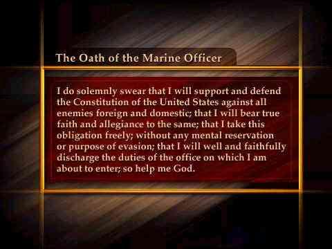Oath of Offfice