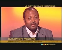 Interview de Salomon Mezepo