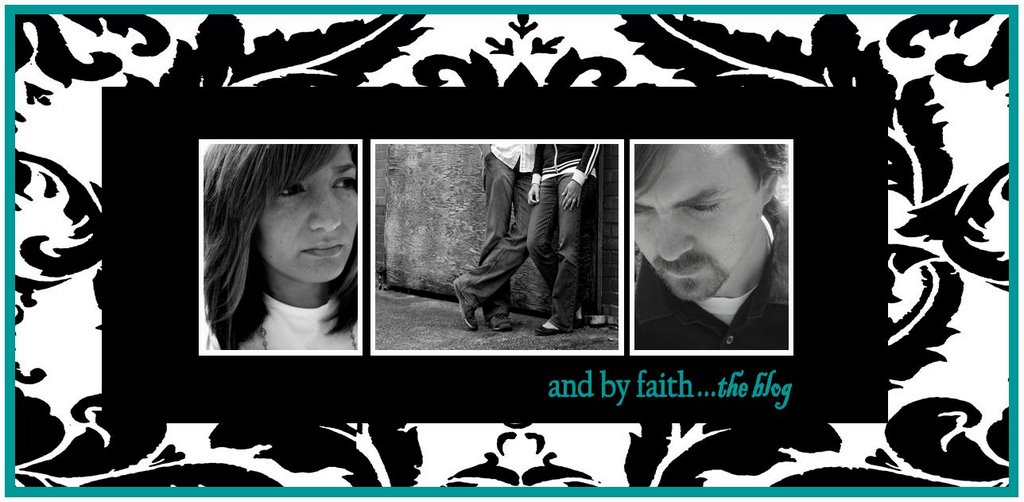 and by faith the blog