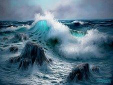 """La mar """"estaba serena"""""""