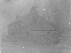 very faded view of Carpenters Arms (Tally Ho) on The Chart