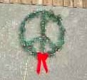 'Peace' wreath