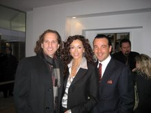 TV Actress Sophia Milos and Italian Mens Fashion Designer