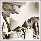 Mother Theresa pray for us!