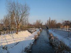 Nieve en el Esgueva