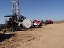 Exploratory Oil Drilling
