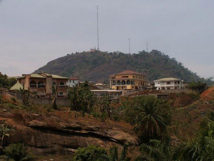 Les collines proches de la maison