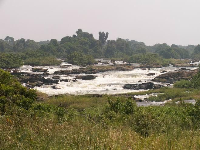 Les chutes de Nachtigal sur la Sanaga