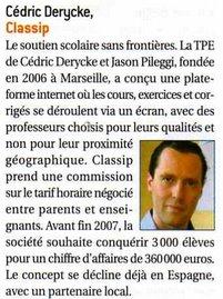 """L""""entreprise - Juin 2007"""