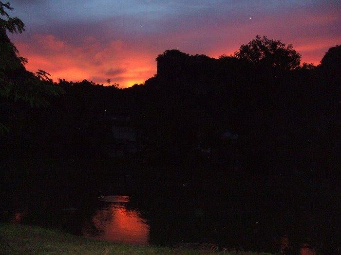 Sunset at Borsan