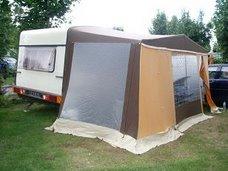 Au camping de Fort Mahon