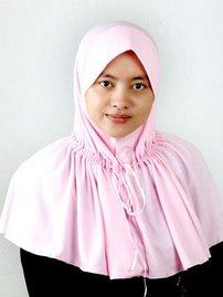 Cantik dengan jilbab