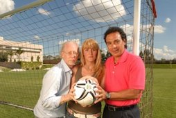 Junto a David Eisemberg y Hugo Sanchez