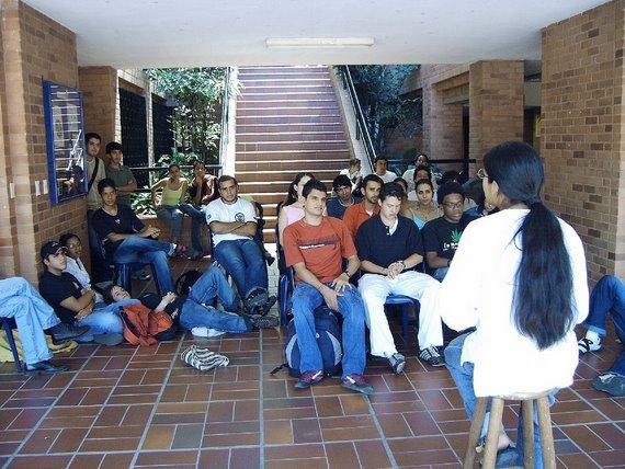 """En el Espacio el """"Rincon"""" Universidad Icesi"""