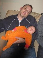 My new Nephew and I