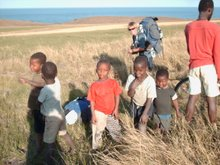 Me and some Pondo kids at Mtentu