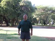 Karel Fourie at Hartbeespoort Holiday Resort
