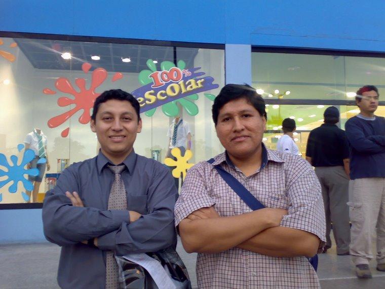 Kakaroto y Aldo-Kun (10-MAR-2007)