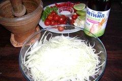Ingredients of Som Tam