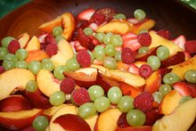 Fruit Salad. Thank god for summer's jewels!