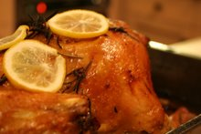 roasted rosemary and lemon chicken