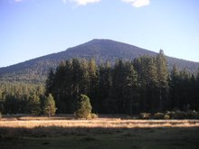 view of black butte