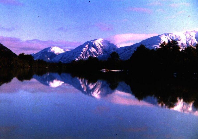 Amanecer en Patagonia