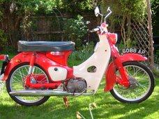 1963 Honda C100