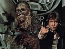 Han and Chewie!