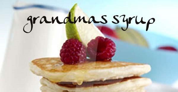 grandma's syrup