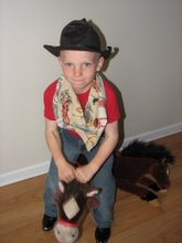 Steven's Cowboy Day at School