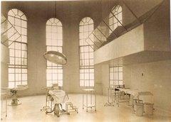 Quirófanos, alarde de técnica y diseño en 1935