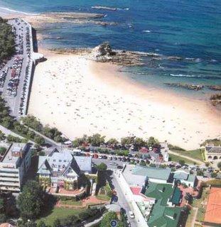 Santander, playa de El Camello