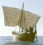 A replica of a 4th century BC Merchant Ship