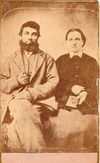 James Mathias Cliser & wife Louisa Best Cliser 1854