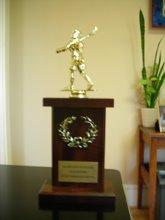 Sportsmanship Trophy ST LAX 07