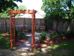 Prayer Garden at CUMC