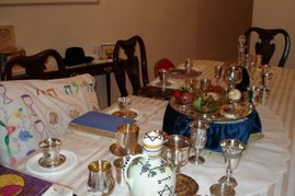 Seder Table