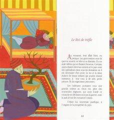 Extraits des contes :         Le roi de trèfle