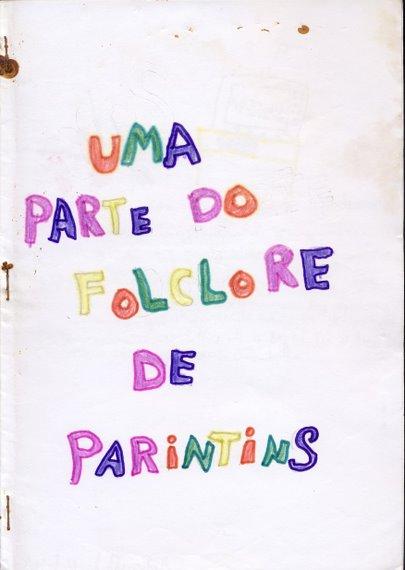 Boi de Parintins - Produção relatório em forma de livro