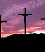 ...se a fé vacilar, quero à cruz me apegar, pois ali meu Jesus me salvou !