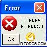 Tu Erz El Error!! XD