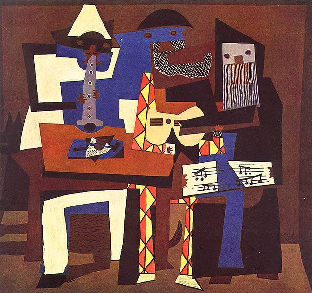 picasso: 3 musici
