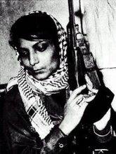 الثائرة ليلي خالد