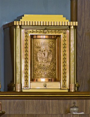 Saint George Catholic Church, in Hermann, Missouri - tabernacle