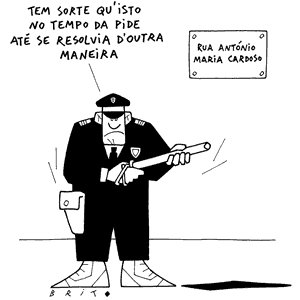 Cartoon de Brito
